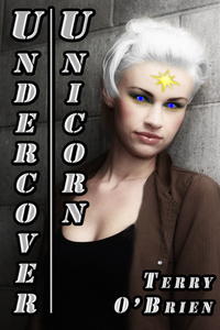 This is cover to my short story 'Undercover Unicorn'.
